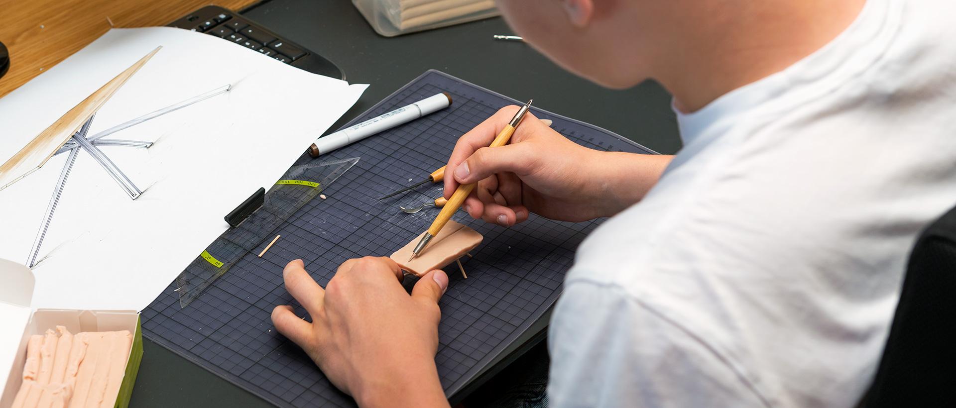 Praktikum im Produktdesign bei Wimmer Wohnkollektionen - eigene Entwürfe ausarbeiten