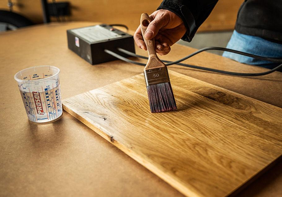 Wimmer Wohnkollektionen: So funktioniert das Lichtenberg-Verfahren