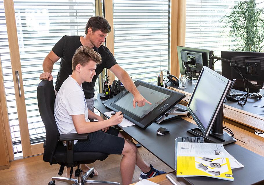 Praktikum im Produktdesign bei Wimmer Wohnkollektionen - Planungsprogramm Phyta