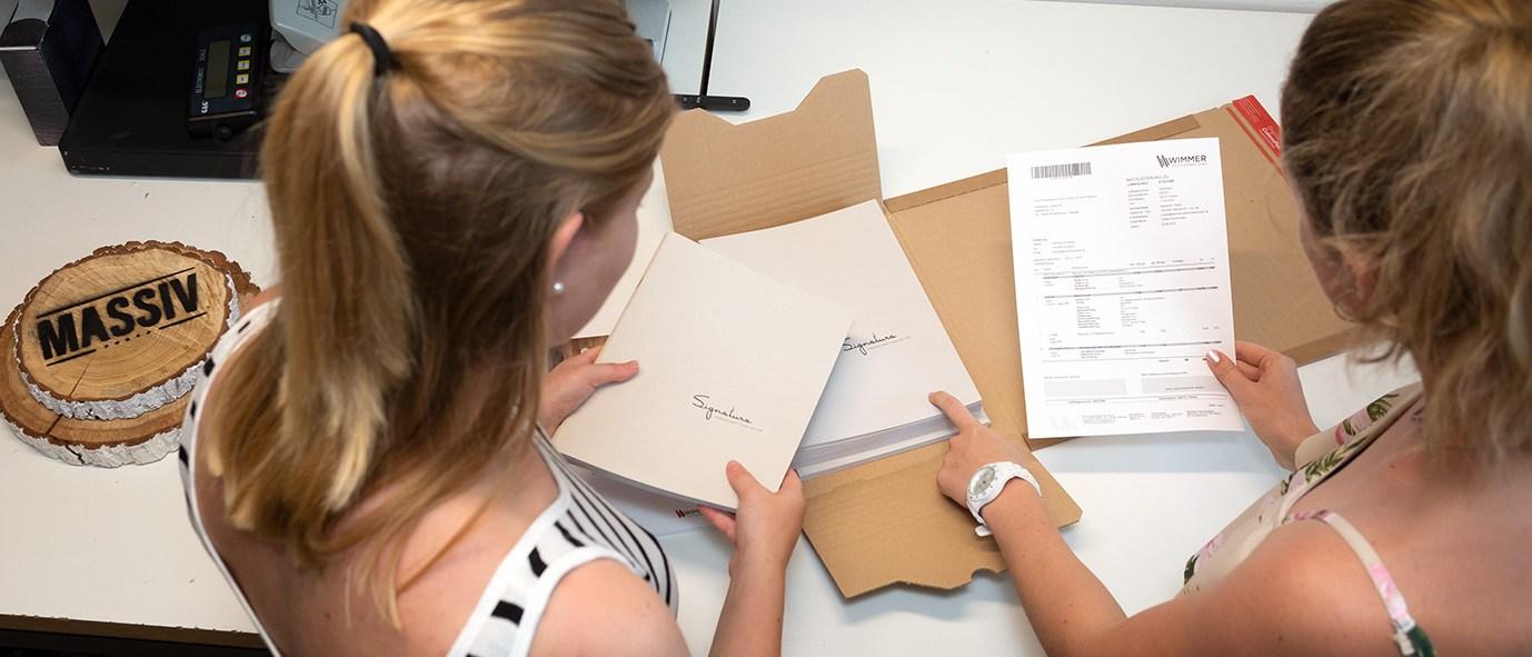 Praktikum Wimmer Wohnkollektionen Laura Markl Versand
