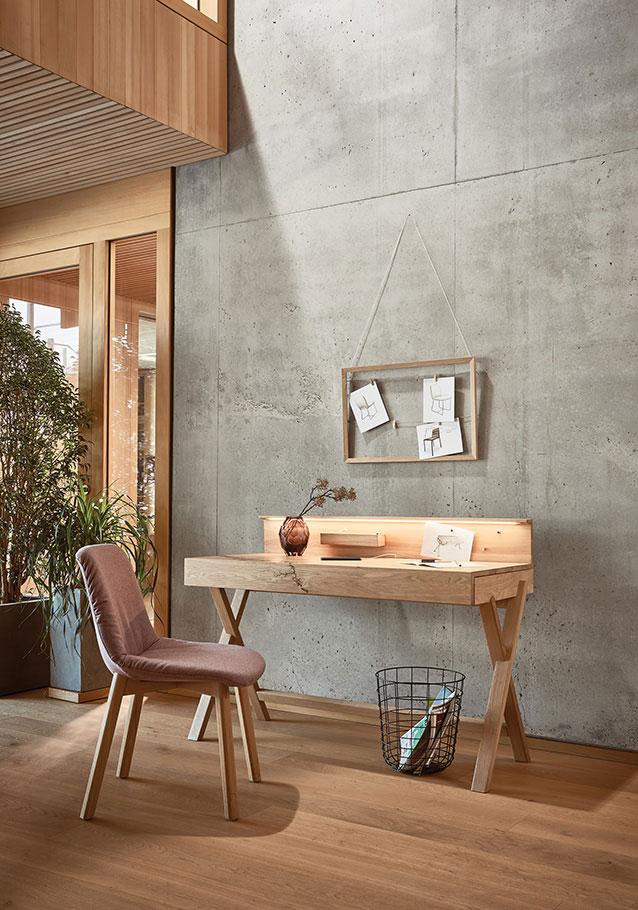 Wimmer Wohnkollektionen: Sekretär aus unserer Massivholz-Kollektion SIGNATURA