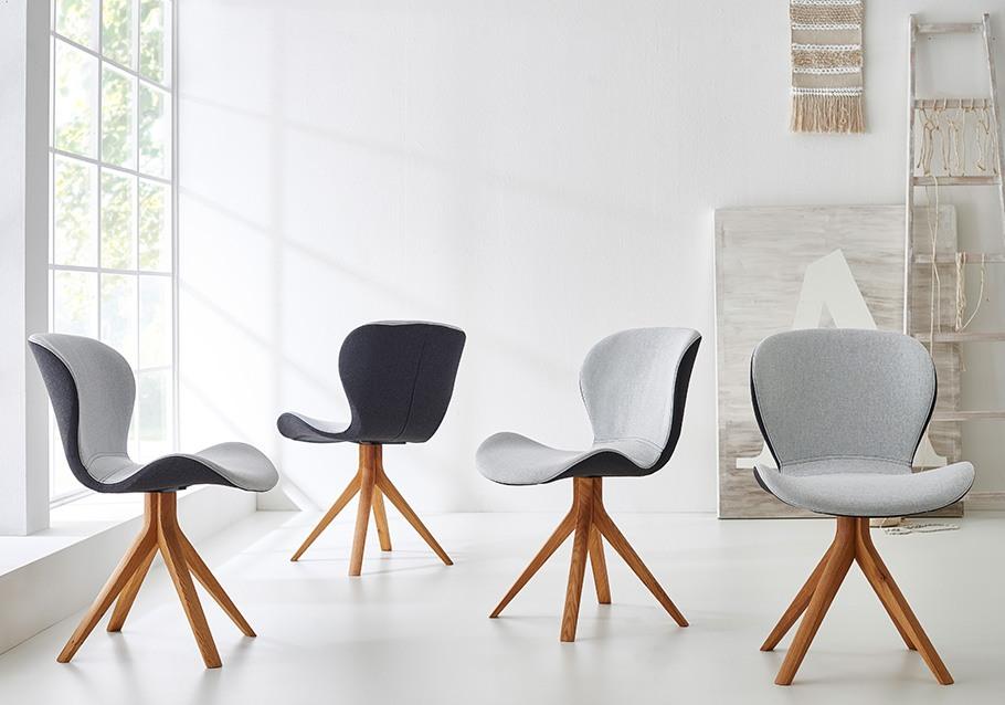 Schalenstühle ZS 150 unserer Kollketion ZWEIGL: modern & ergonomisch
