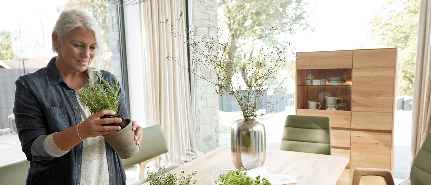 Wimmer Wohnkollektionen: Einrichtungstrends 2019 Healthy living , Kollektion NYON