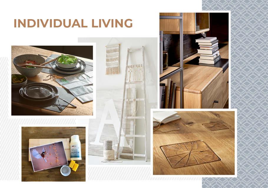 Wimmer Wohnkollektionen: Einrichtungstrends 2019 - Individual living - Ideen