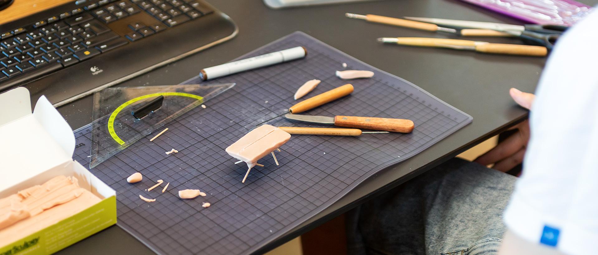 Praktikum im Produktdesign bei Wimmer Wohnkollektionen - Modellbau