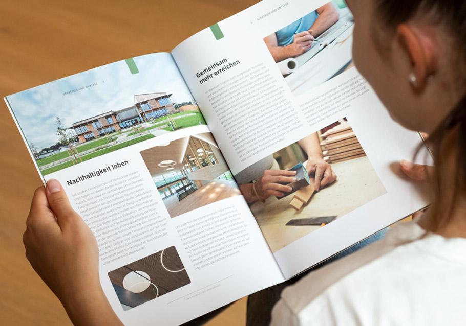 Wimmer Wohnkollektionen: Unser Nachhaltigkeitsbericht 2017