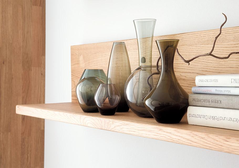 Mehrere kleine Vasen bilden zusammen ein schönes Ensemble - Kollektion Casera.