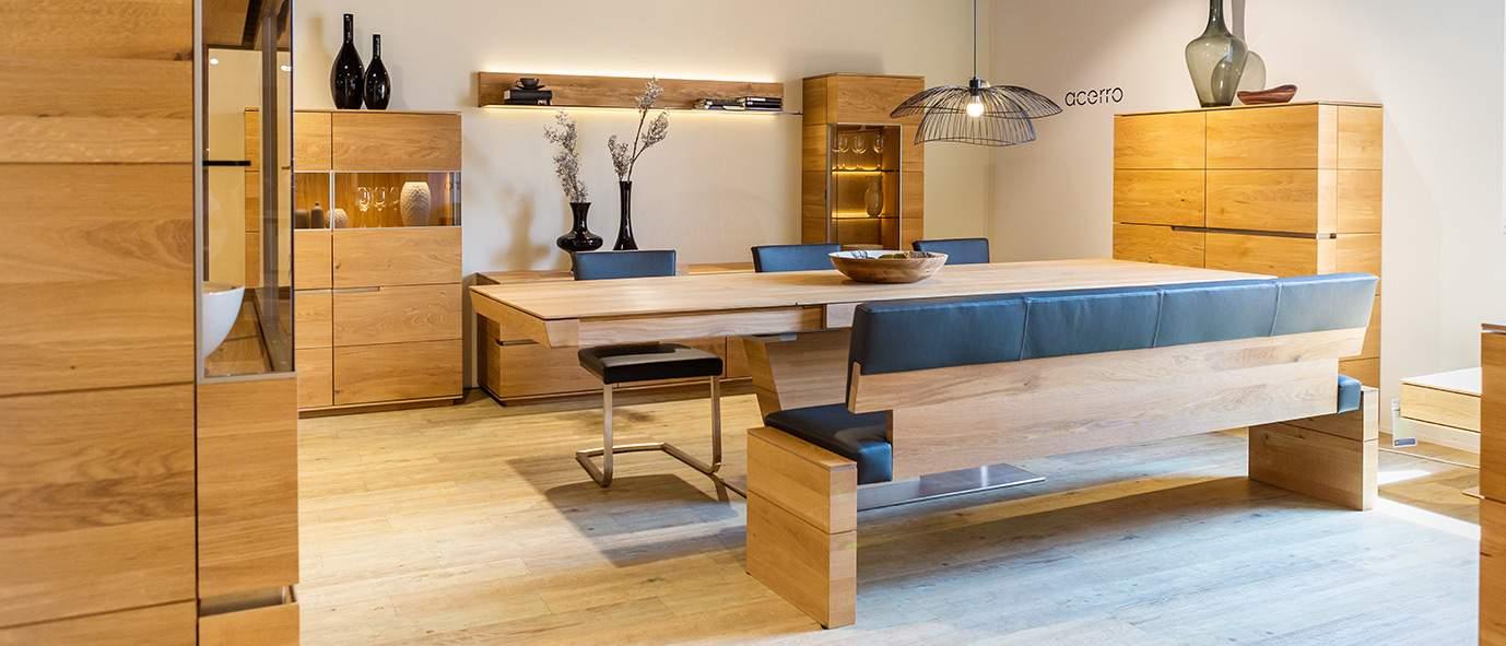 Wimmer Wohnkollektionen: Ausstellung Möbel Inhofer - Kollektion ACERRO