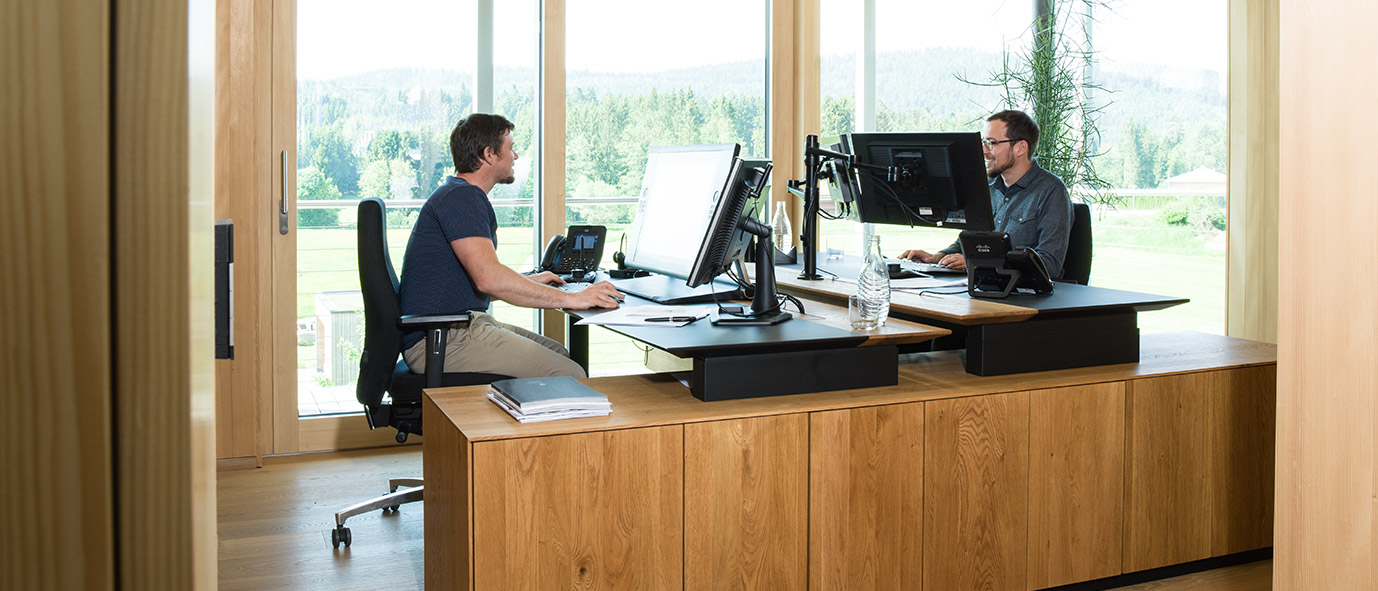 Wimmer Wohnkollektionen - moderne Arbeitsplätze
