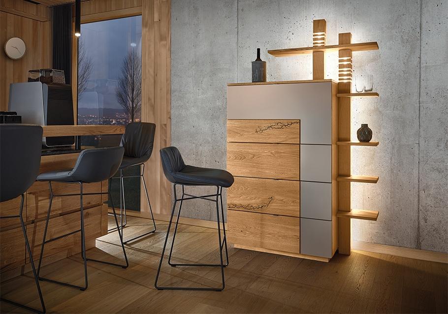 Highlight für dein Wohnzimmer - Barschrank aus unserer Kollektion SIGNATURA.