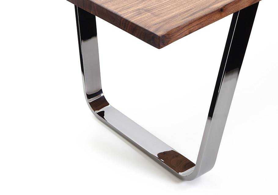 Wimmer Wohnkollektionen - Holztisch mit Metall, Kollektion ZWEIGL Z50