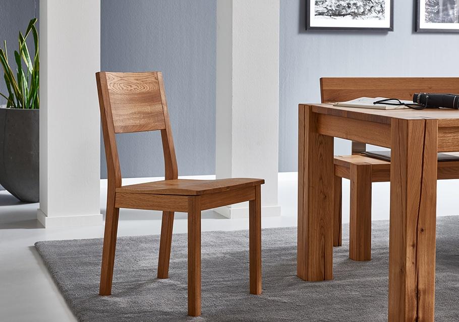 Trend 2020: Stühle aus Massivholz