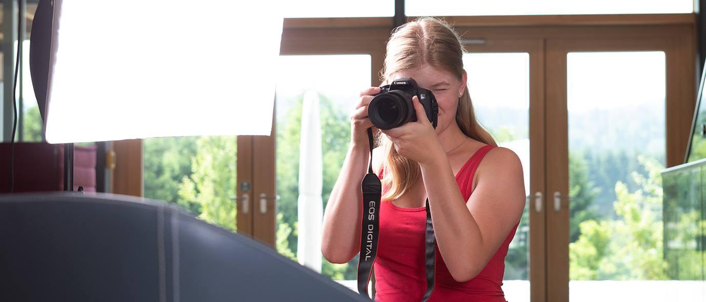 Praktikum Wimmer Wohnkollektionen Fotografie erste Schritte