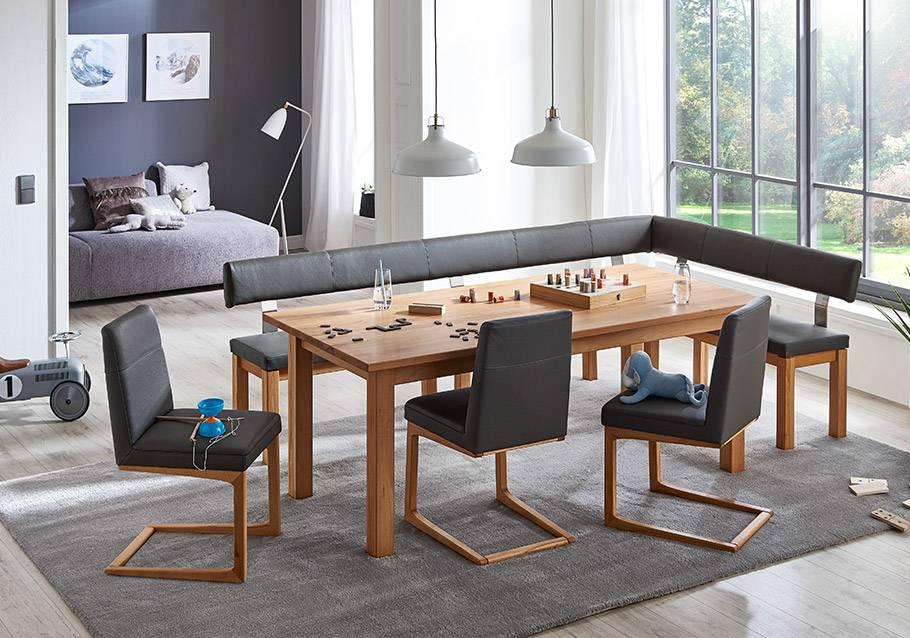 Wimmer Wohnkollektionen - Holztisch KRENO, Rotkern-Buche