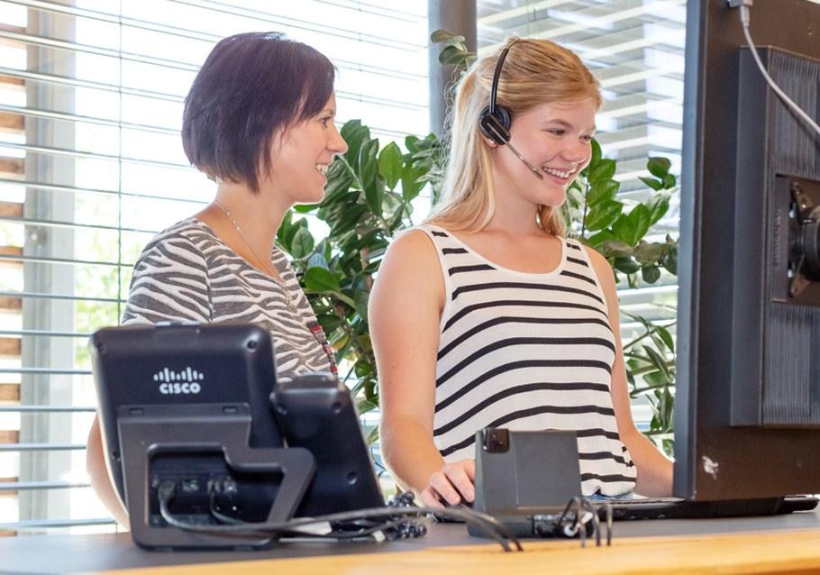 Praktikum Wimmer Wohnkollektionen Laura Markl Abteilung Einkauf Kunden Service