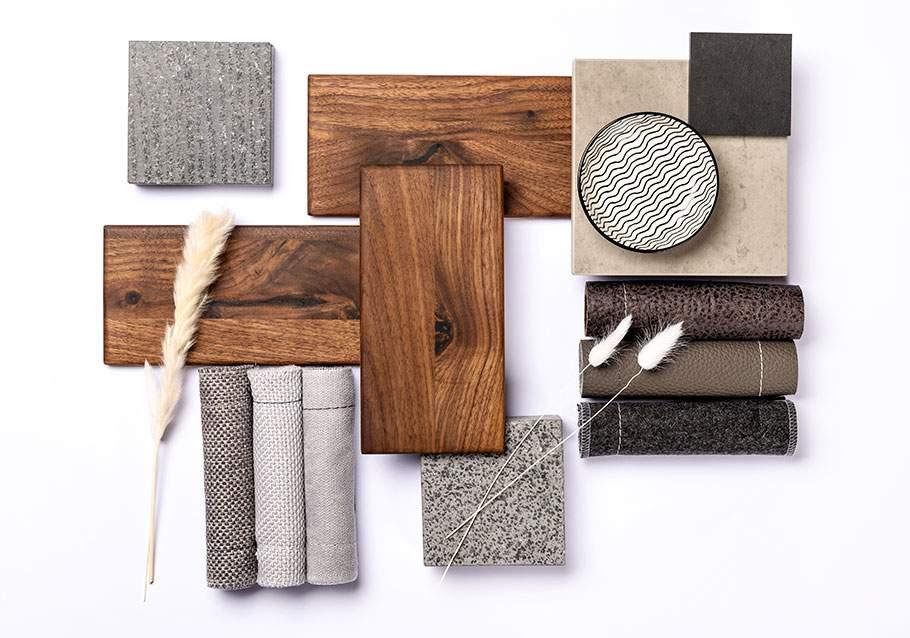Wimmer Wohnkollektionen: Farbfamilie für Nussbaum-Holz