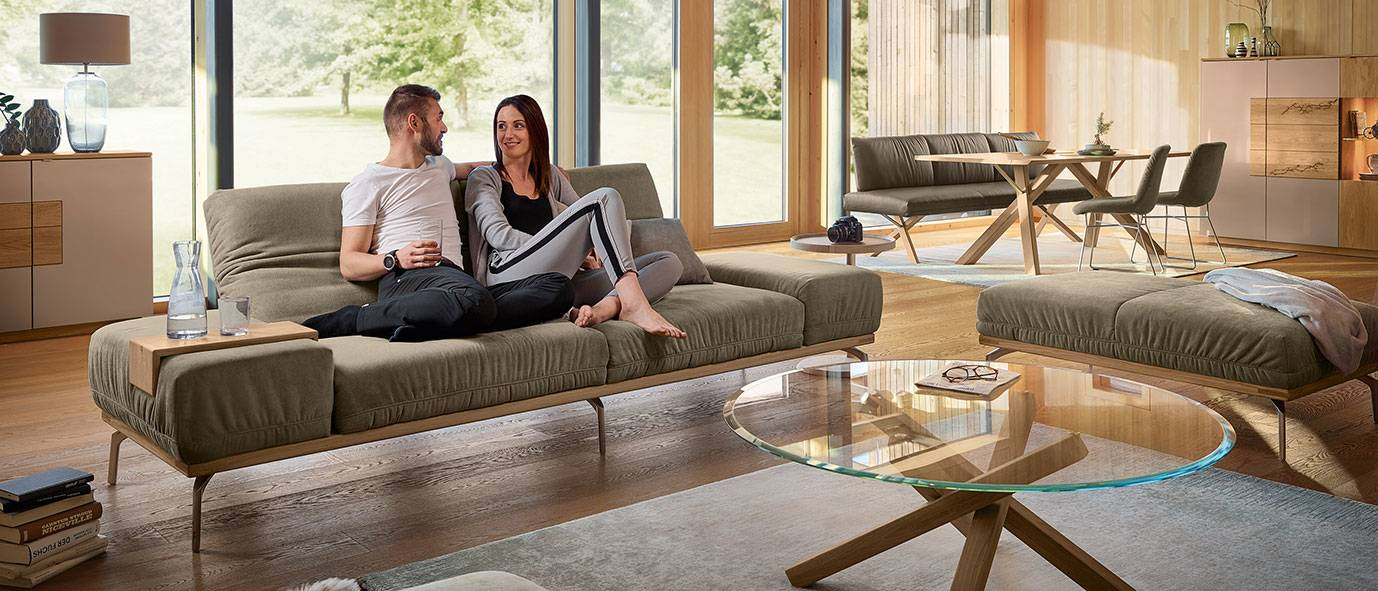 Wimmer Wohnkollektionen: verschiedene Holzarten kombinieren - Kollektion SIGNATURA