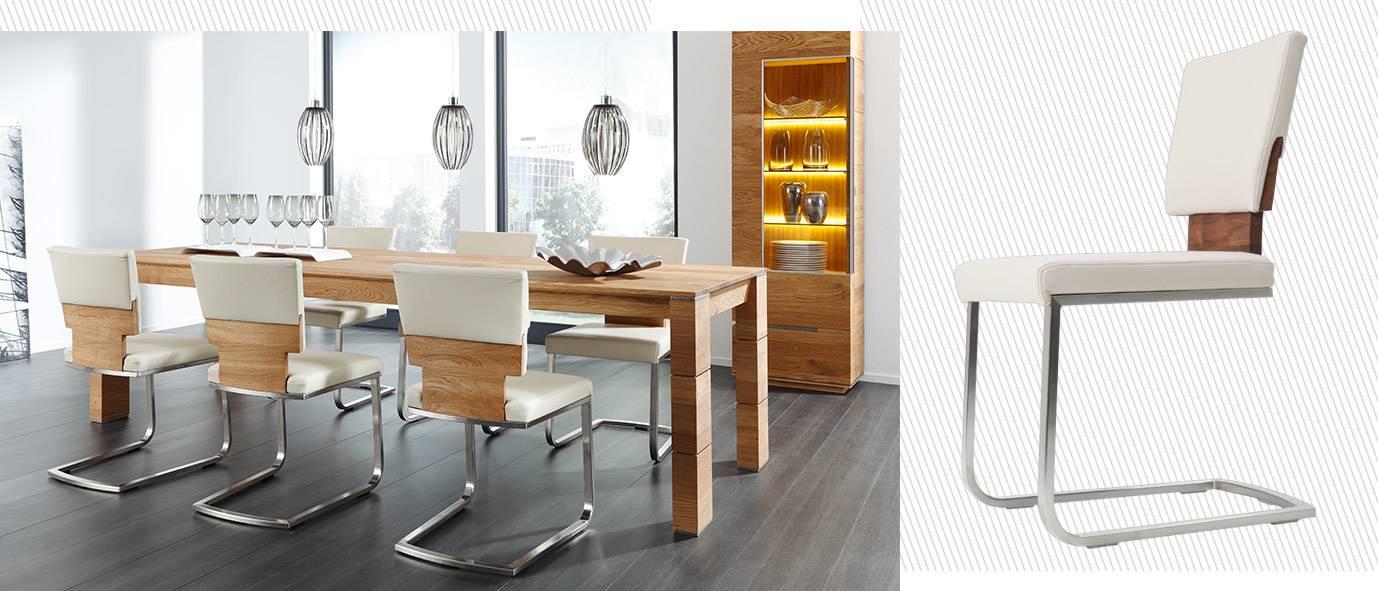 Wimmer Wohnkollektionen -Holztisch Nyon, Rotkern-buche