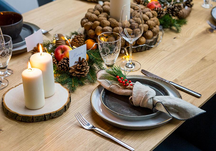 Wimmer Wohnkollektionen: natürliche Weihnachtgsdeko