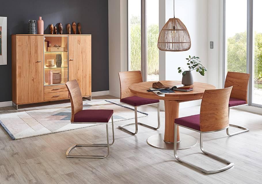 Wimmer Wohnkollektionen - Holztisch nach Mass - Tisch OREL aus Rotkern-Buche