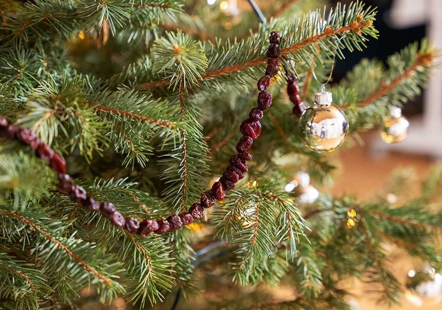 Wimmer Wohnkollektionen: Weihnachtsschmuck aus Cranberrys