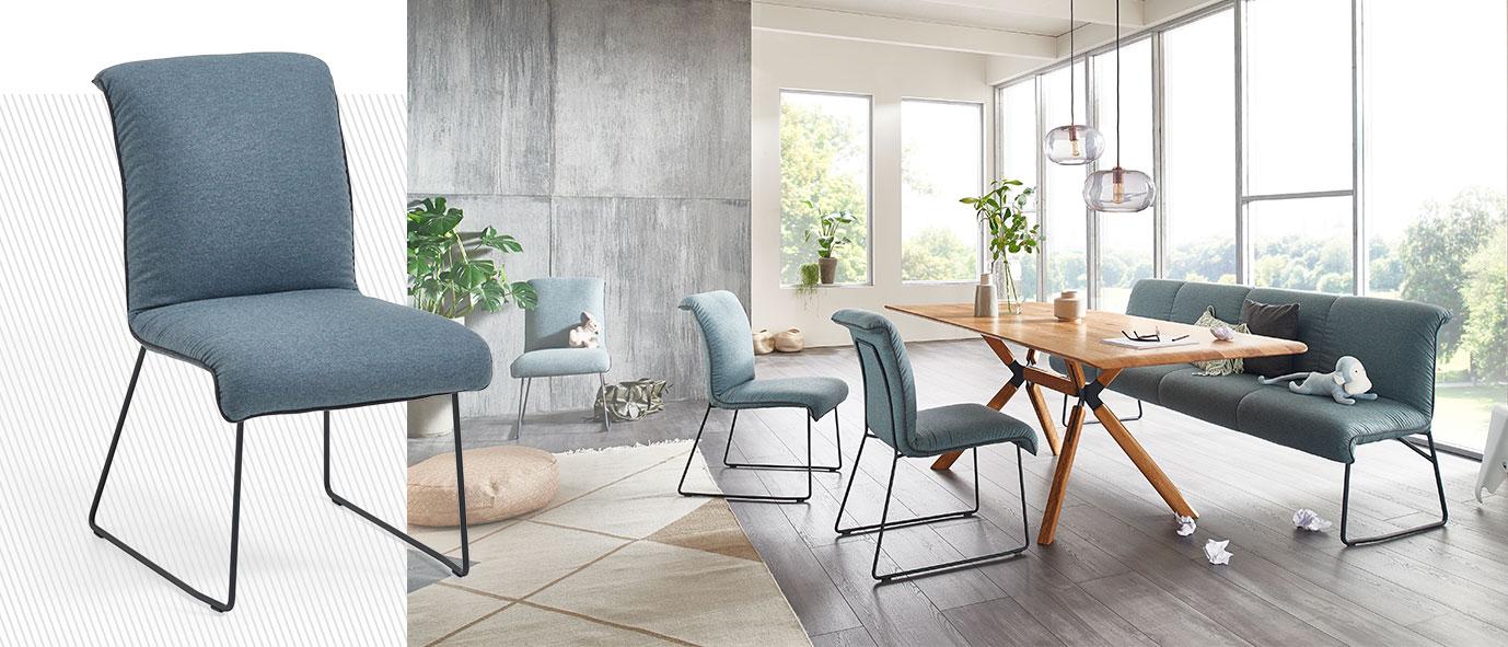 Wimmer Wohnkollektionen - Stuhl mit Keder ZS140, Kollektion ZWEIGL