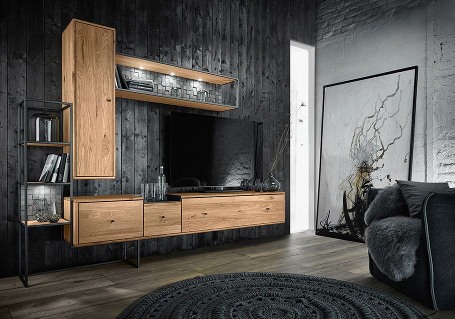 Wimmer Wohnkollektionen: Mittelpunkt Farbfamilie hilft beim Einrichten.