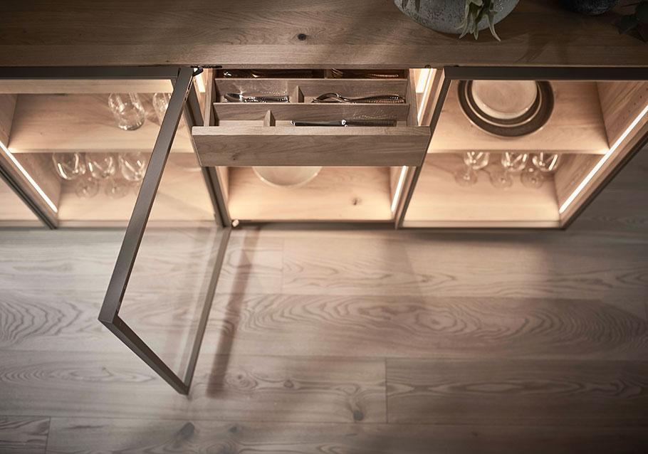 Wimmer Wohnkollektionen: Sideboards aus Massivholz - Kollektion LINJA L50