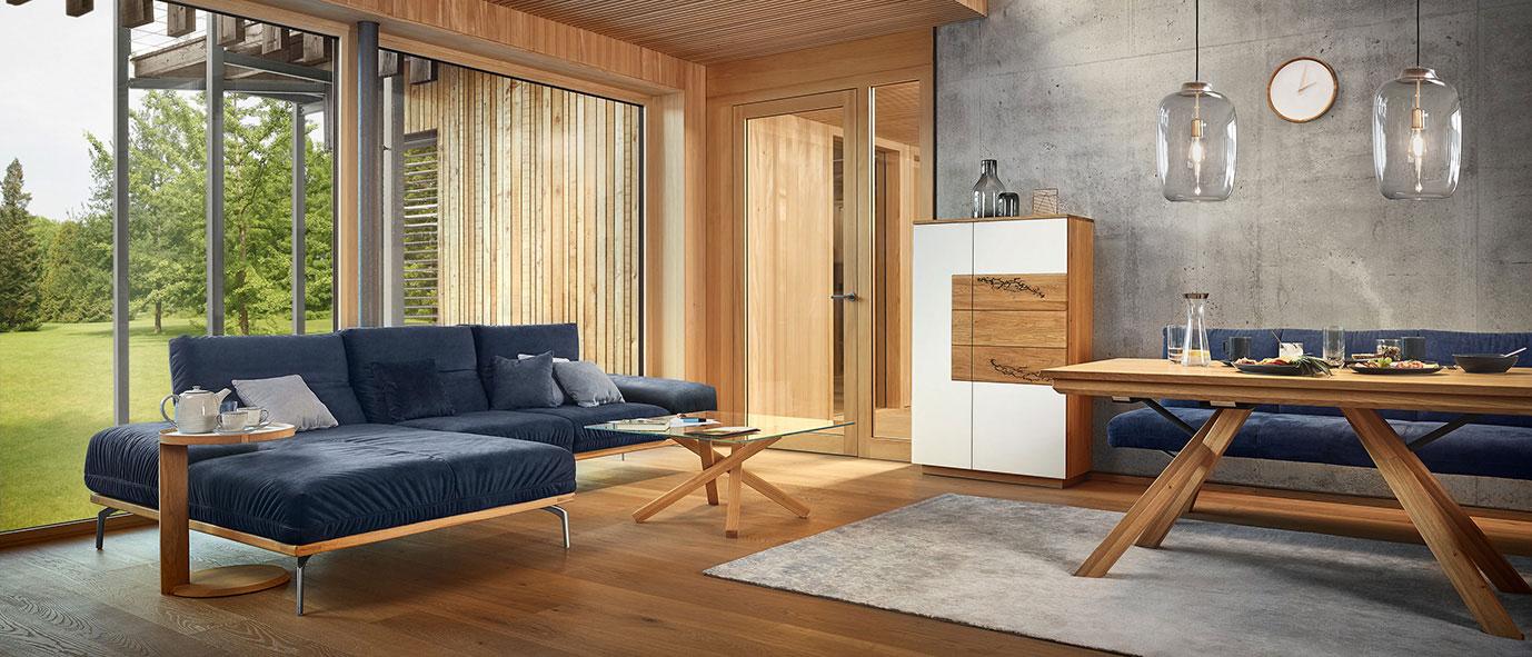 Wimmer Wohnkollektionen: Kollektion SIGNATURA offenes Wohnen
