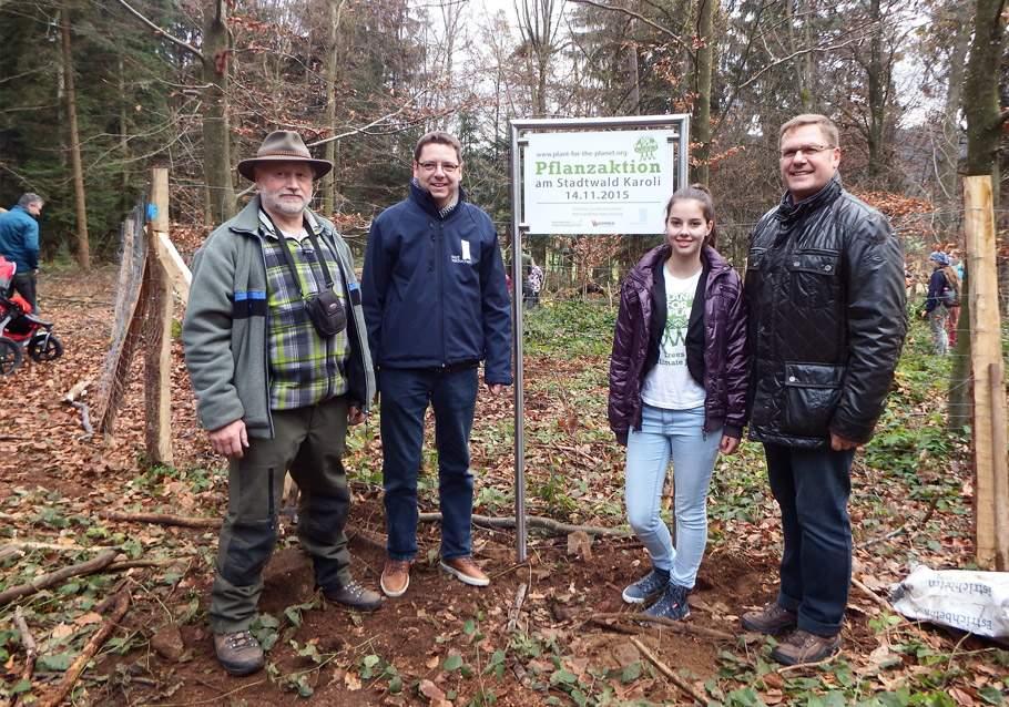 Wimmer Wohnkollektionen - Pflanzaktion Plant for Planet