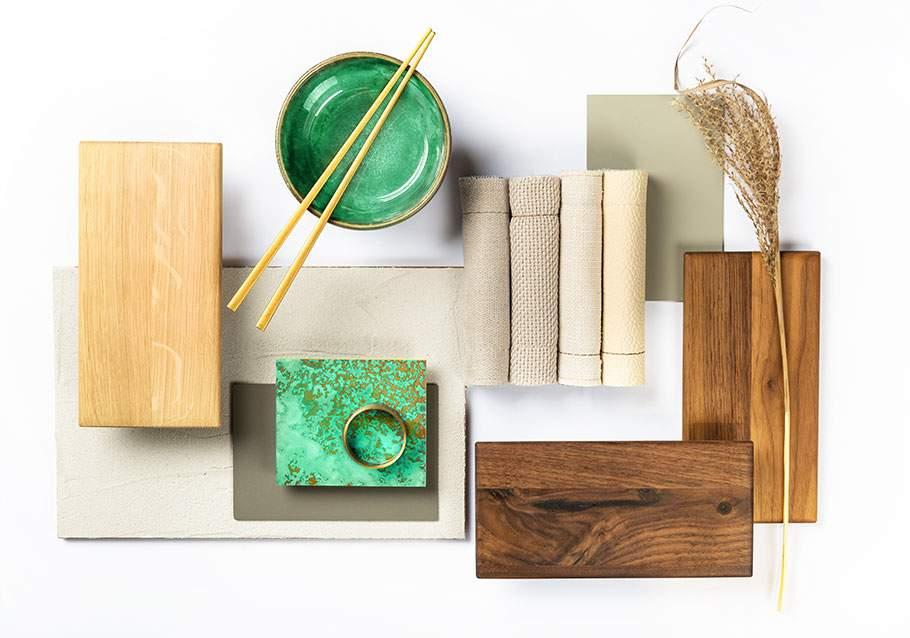 Wimmer Wohnkollektionen: Trendfarbe 2021 - Quiet Wave