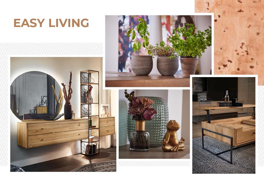 Wimmer Wohnkollektionen: Einrichtungstrends 2019 - Easy living - Ideen