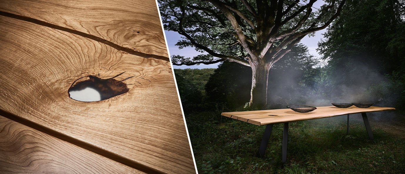 Wimmer Wohnkollektionen: Design-Möbel von der Natur inspiriert - Kollektion 18Hundert
