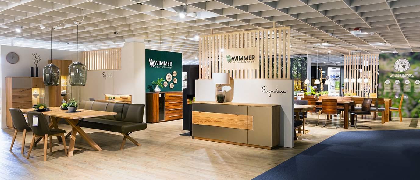 Wimmer Wohnkollektionen: Ausstellung Möbel Inhofer