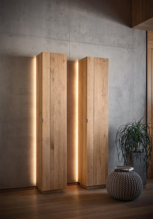 Mit indirektem Licht kommen auch Ihre Möbel besser zur Geltung - Kollektion Signatura.